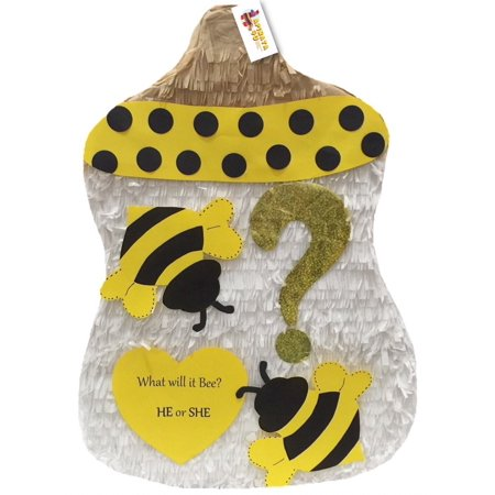 APINATA4U Bumblebee Baby Bottle Gender Reveal Pinata](Baby Carriage Pinata)
