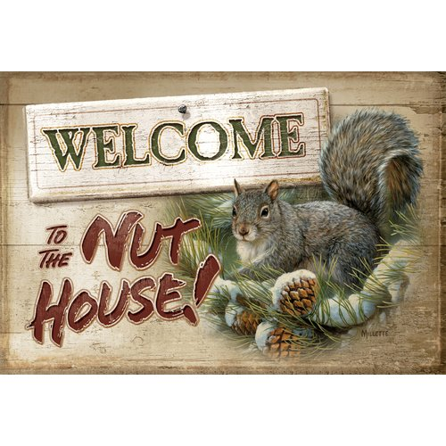 Custom Printed Rugs Nut House Doormat