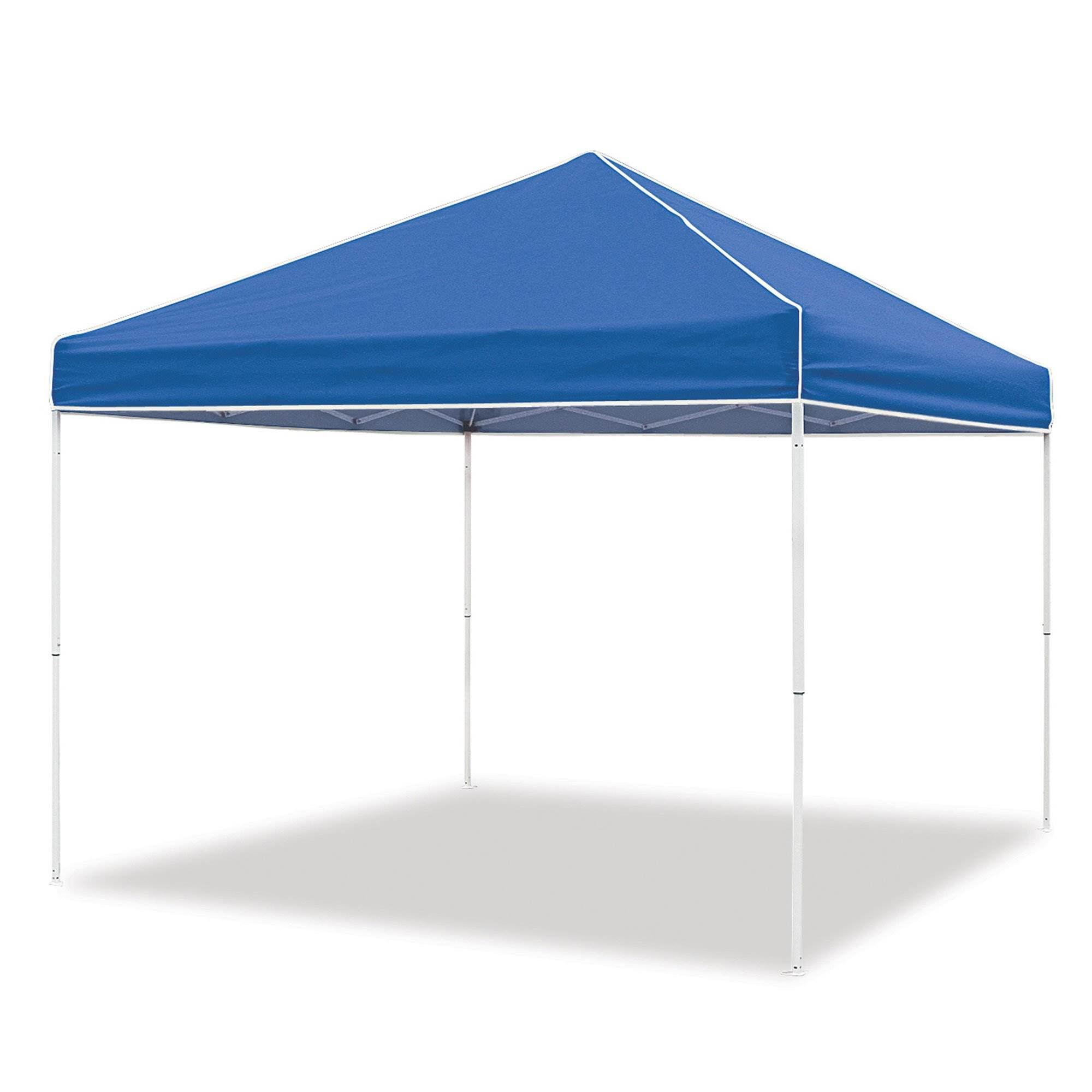 Blue Quik Shade 10/' x 10/' Instant Straight Leg Pop Up Outdoor Canopy Shelter