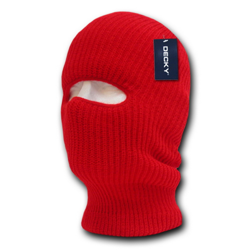 Decky 971 Tactical Masks (1 Hole)-HeatherCharcoal