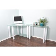 rta home and office white lines corner desk - Home Office Corner Desk