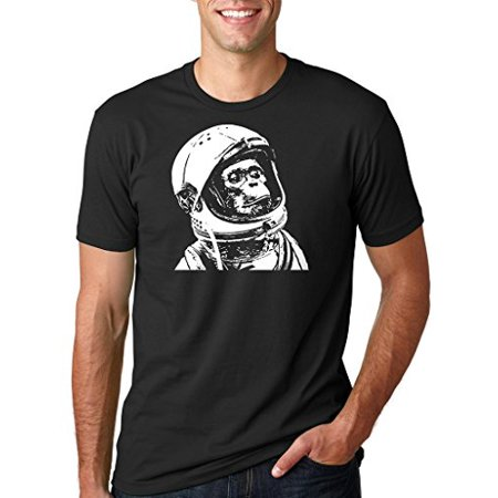 b981d9665610c9 Astronaut Chimp Funny Hipster Retro T-shirt Christmas Gift Chimp ...