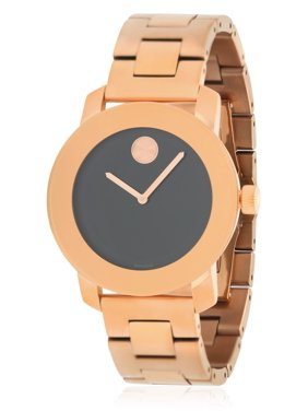 Movado Bold Rose Gold-Tone Unisex Watch 3600463