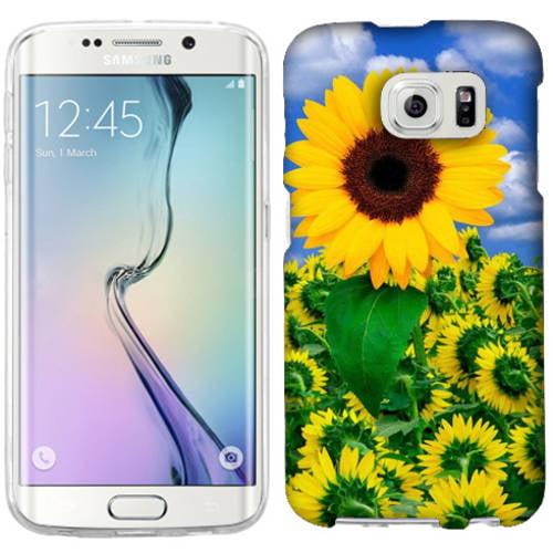 Mundaze Sunflower Field Phone Case Cover for Samsung Galaxy S6 edge+