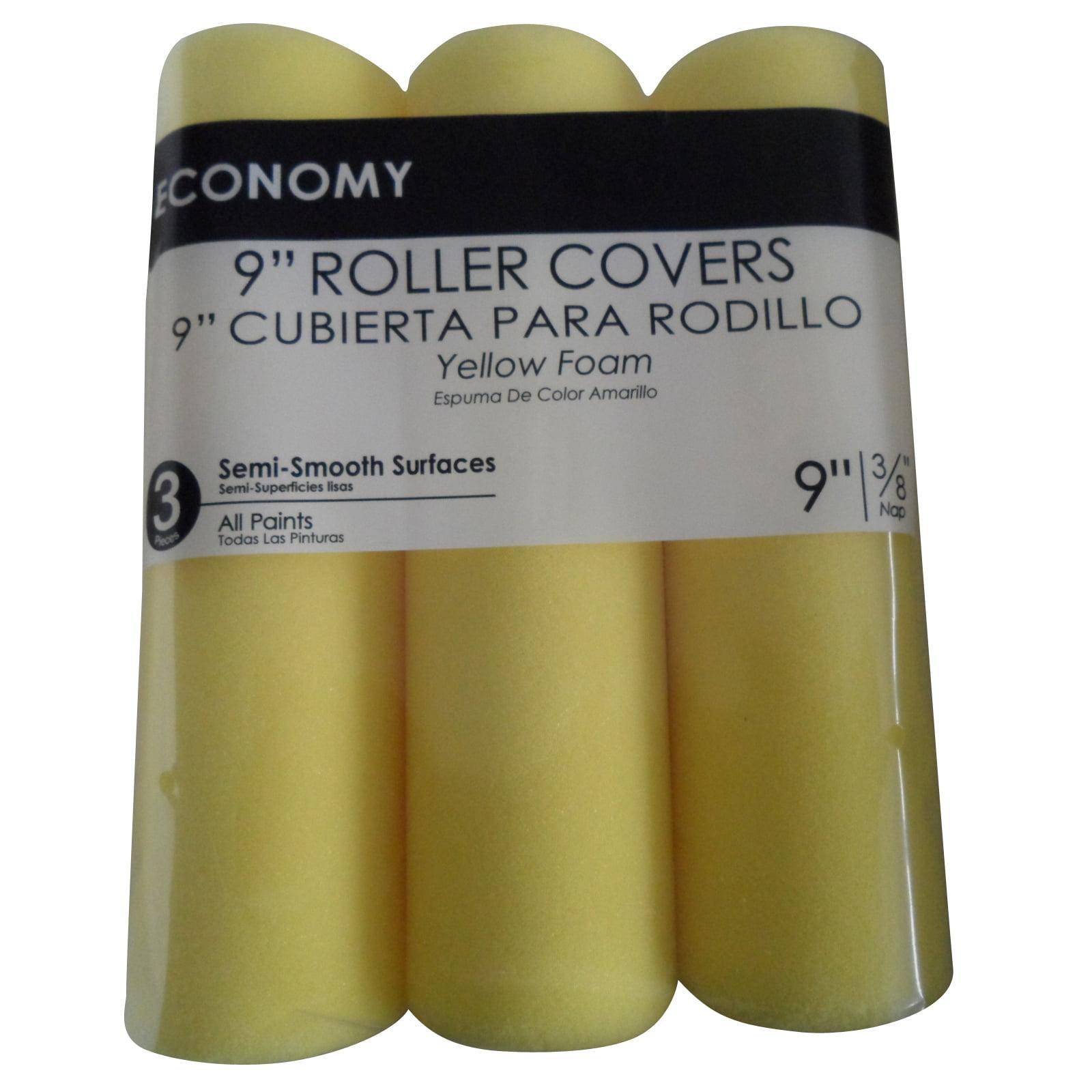 Economy Foam Roller Cover, 3pk