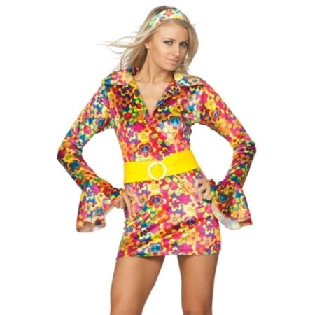 Multi Color Psychedelic Sally Costume RG Costumes 81656 Multi Color