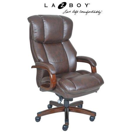 La-Z-Boy Fairmont Big and Tall Executive Office Chair - (La Z Boy Bonded Leather Executive Office Chair)