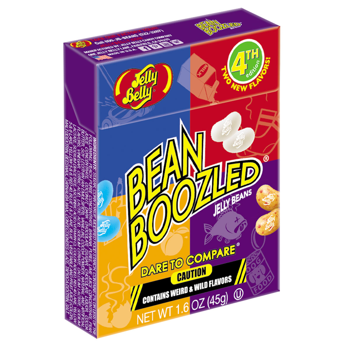 Jelly Belly Bean 1.6oz Boozled Jelly Beans, Forth Edition
