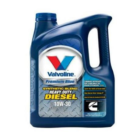 Valvoline 818289 Oil Premium Blue 1 Gallon