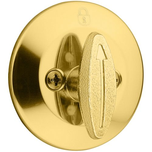 Kwikset 677 One Sided UL Listed Deadbolt from the 660 Series