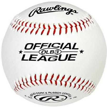 0fb30f6b Rawlings OLB3 Official League Recreational Play Baseball - Walmart.com
