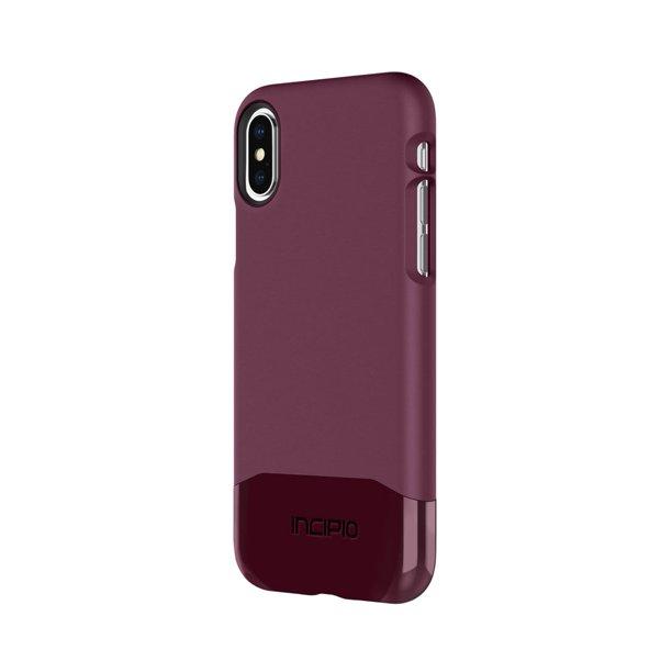 Incipio Edge Chrome Iphone X Case With Soft Touch Shell And Chrome Bottom Piece For Iphone X Walmart Com Walmart Com
