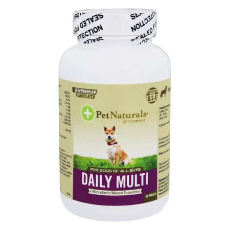 - Pet Naturals of Vermont Daily Multi For Dogs of All Sizes 60 Tablet(s)