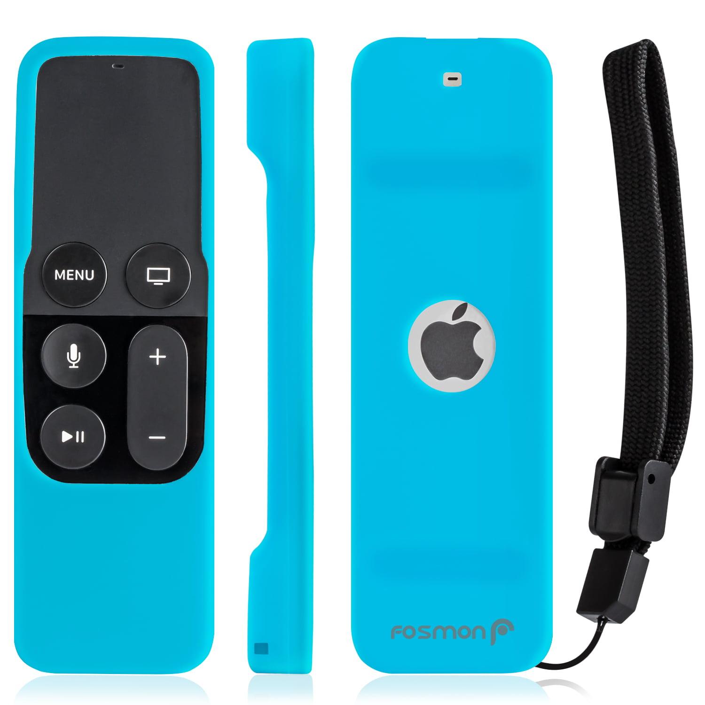 Fosmon Soft Silicone Slim Case For Apple Tv 4th Generation Siri