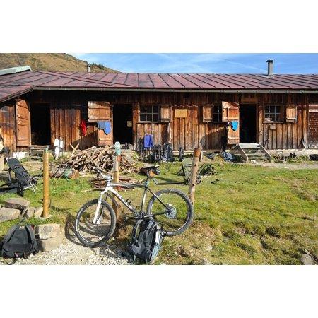 Canvas Print Mountain Bike Tour Bike Mountain Bike Bike Ride Stretched Canvas 10 x