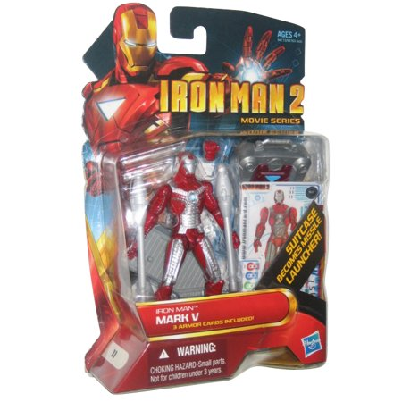 Marvel Comics Iron Man 2 Movie Mark V #11 Hasbro Action Figure