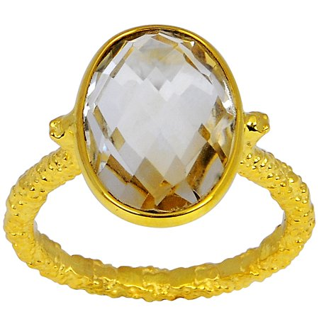 Beautiful 5 Ctw Oval Citrine 925 Sterling Silver Wedding Ring For the One by Orchid Jewelry