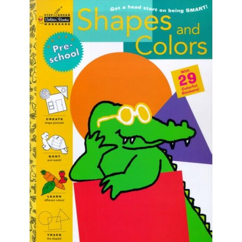 Shapes and Colors: Get a Head Start on Being Smart With 29 Colorful Stickers