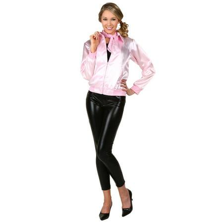 Pink Ladies Jacket From Grease (adult grease pink ladies)