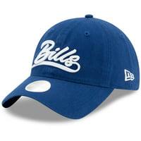 Buffalo Bills New Era Women's Tail Sweep 9TWENTY Adjustable Hat - Royal - OSFA