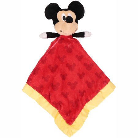 Kids Preferred Disney Snuggly Baby Blanket Mickey Mouse ()