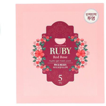 Koelf  Ruby Red Rose Hydro Gel Mask Pack  5 Masks  30 g Each](Red Mist Mask)