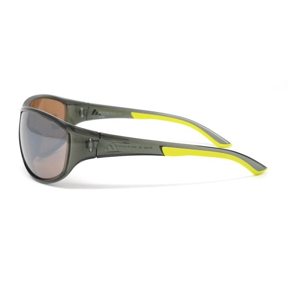 530bb7236926 Adidas Sunglasses Daroga A416 6050 Transparent Green Lime/Contrast Silver  Brown - Walmart.com