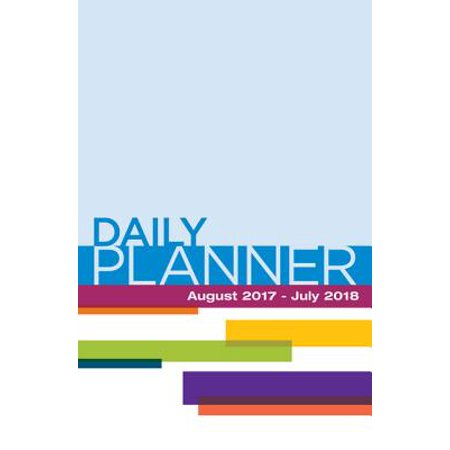 Daily Planner August 2017- July 2018 - Daily Bumps Halloween 2017