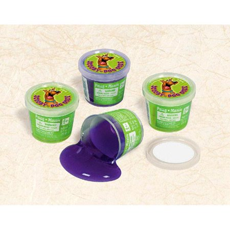 Scooby-Doo Where Are You! Ooze Putty / Favors - Scooby Doo Pinata