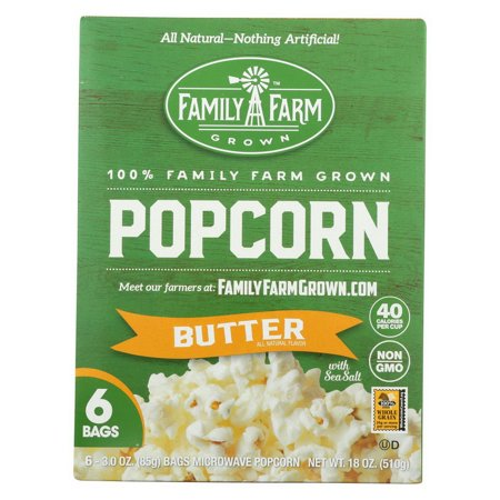 (Price/case)Black Jewell Popcorn - Micro - Butter - Case of 6 - 18 oz