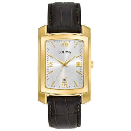 - Bulova Men's Classic Leather Watch