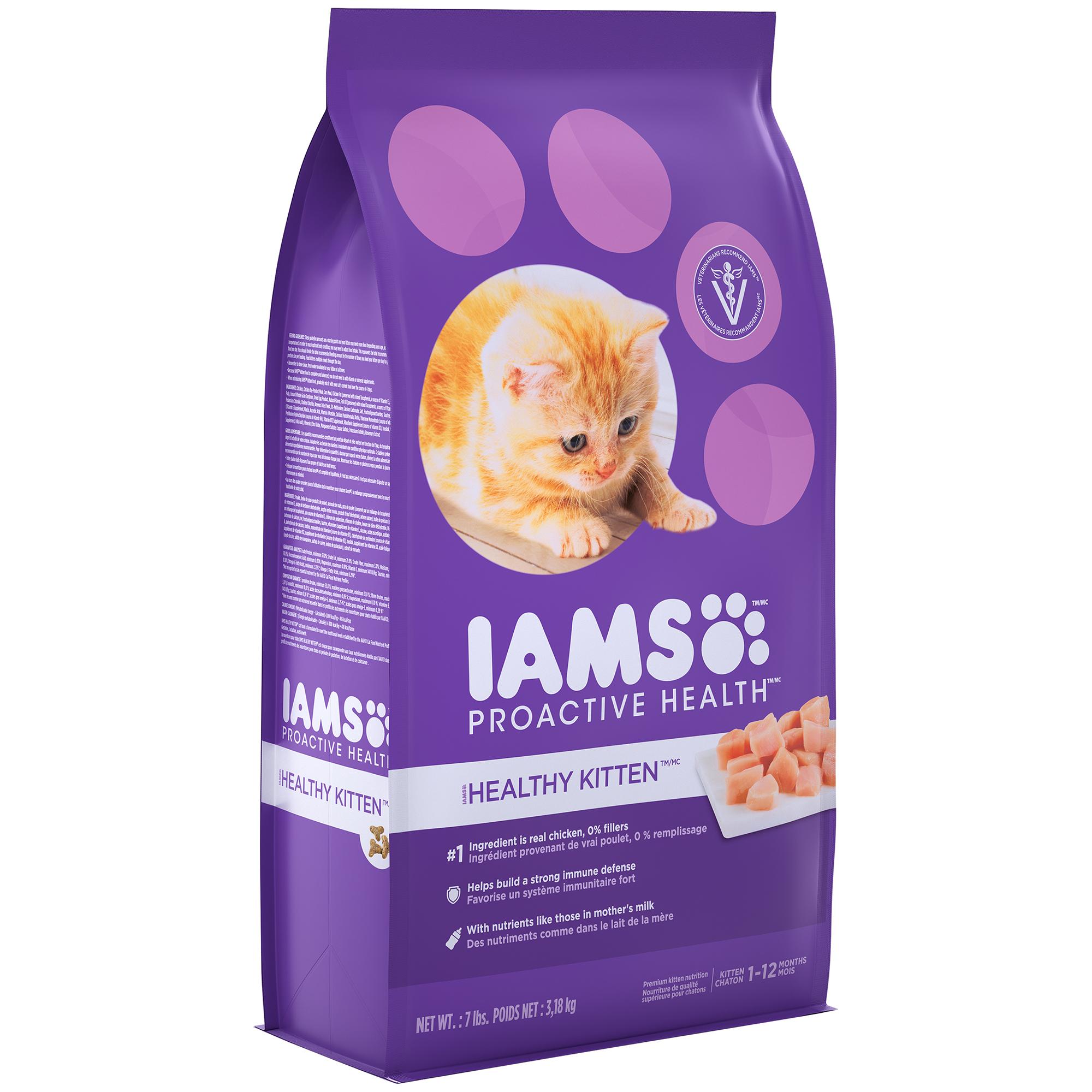 Iams™ ProActive Health™ Healthy Kitten™ Kitten Food with Chicken 7