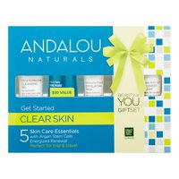 Andalou Naturals - Clear Skin Get Started Kit - 5 Piece(s)