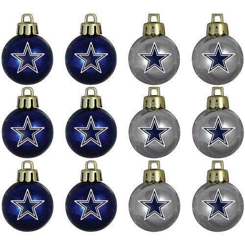 Topperscot NFL Dallas Cowboys Ornament Set, Set Of 12