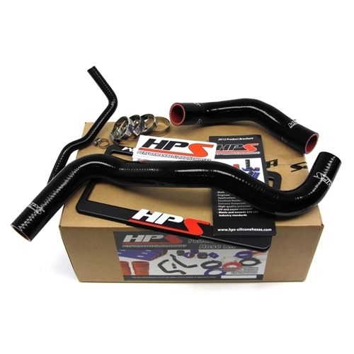 HPS Black Silicone Radiator Hose Kit for Scion 57-1201-BLK