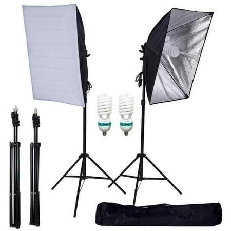 "Efavormart 700W Photography Softbox Lighting Kit Photo Equipment Soft Studio Light kit - 27 x 20"""