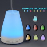 HDE Aromatherapy Essential Oil Diffuser Color Change LED Cool Mist Humidifier