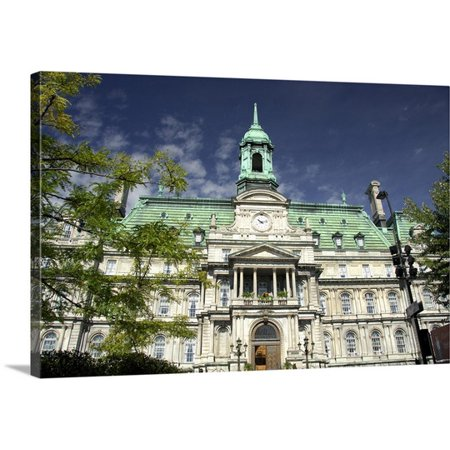 Great Big Canvas Cindy Miller Hopkins Premium Thick Wrap Canvas Entitled Canada  Quebec  Montreal  Heart Of Old Montreal  Jacques Cartier