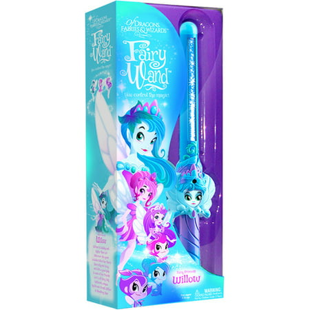 Target Magic Wand (Magic Fairy Wand: Of Dragons, Fairies, and Wizards Fairy Willow Hand Held Blue Wand )