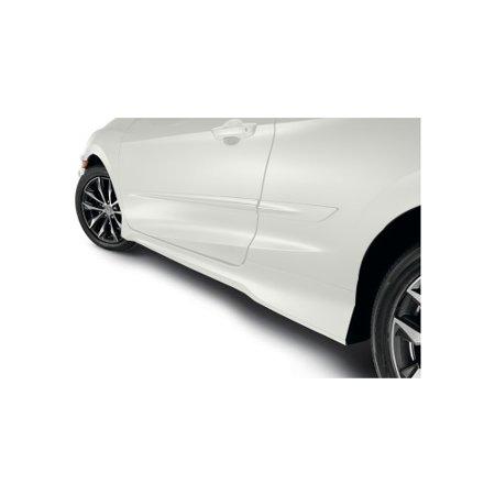 Honda 08P05-TBG-130 Body Side Moldings Honda Civic Coupe White Orchid Pearl