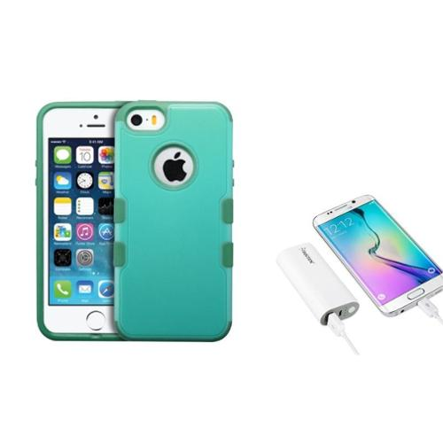 iphone battery charger insten baby green forest green tuff merge hybrid for 5555