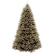 "National Tree Unlit 7-1/2' ""Feel-Real"" Downswept Douglas Fir Hinged Artificial Christmas Tree"