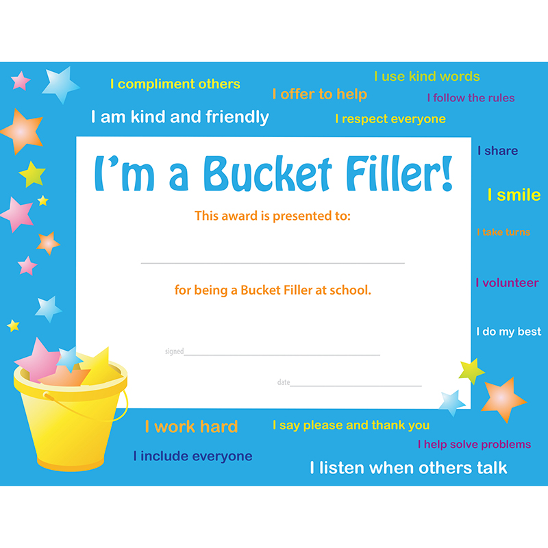 Bucket Filler Award 30 Pk - image 1 de 1