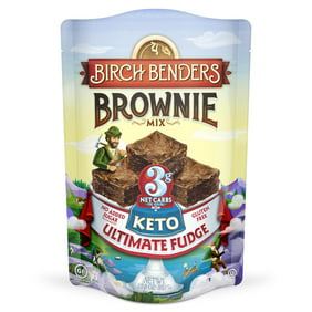 Birch Benders Keto Ultimate Fudge Brownie Mix, 10.8oz