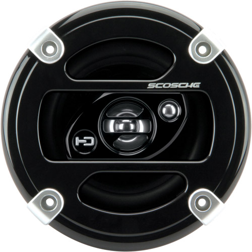 "Scosche HD4003 - 4"" 3-Way, Car Speakers Car Speakers (Pair)"