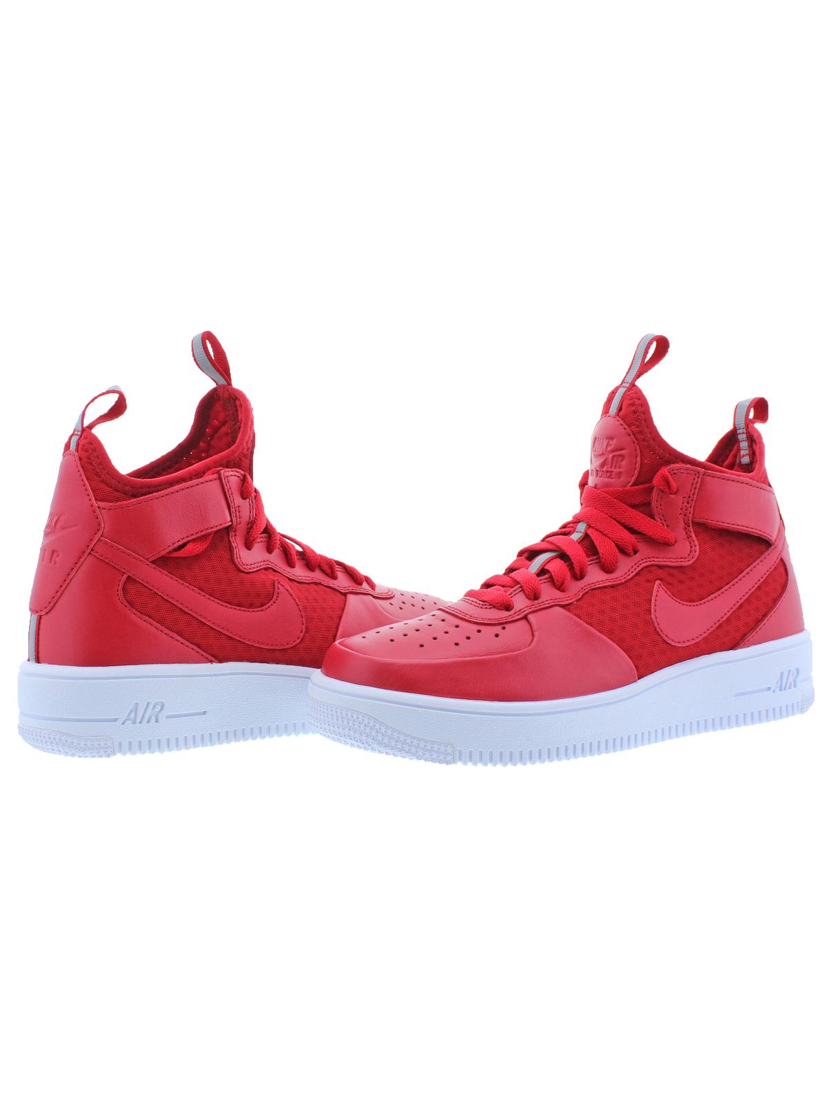 Nike Mens Air Force 1 Ultraforce Mid Mid Lightweight Fashion Sneakers