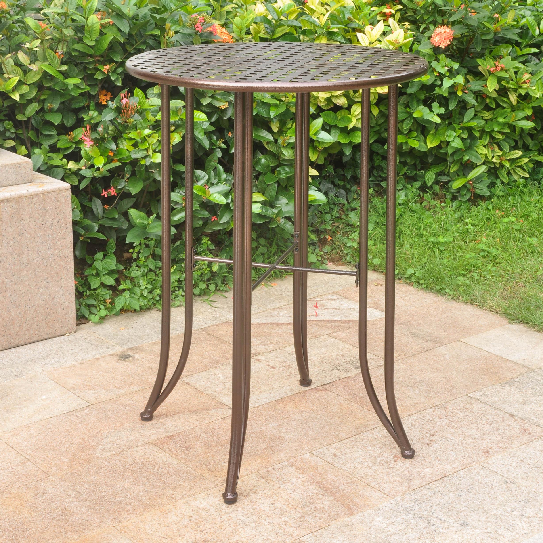 Mandalay Iron Bar-height Bistro Table