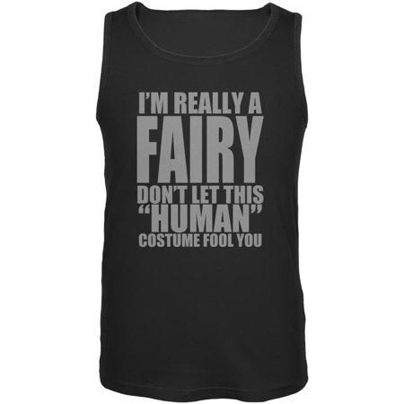 Halloween Human Fairy Costume Mens Tank (Fairy Tank Top Shirt)