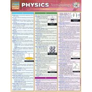 BarCharts 9781423221623 Physics Terminology Quickstudy Easel