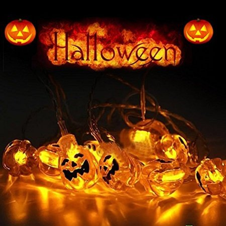 the best attitude 2679f 64f3b ONEU Solar Powered Halloween String Lights 3ft 20 LEDs ...